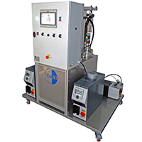 Injection systems for thermoplastics